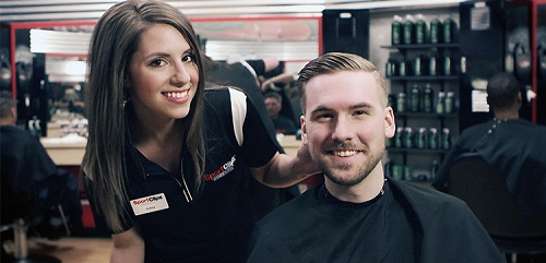 Sport Clips Haircuts of Hanover Square North​ stylist hair cut